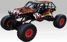 RC auto Rock Crawler 1:10, červená