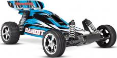 RC auto Traxxas Bandit 1:10, modrá