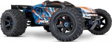 RC auto Traxxas E-Revo 1:8 VXL RTR, oranžová