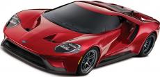 RC auto Traxxas Ford GT TQi, červená