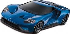 RC auto Traxxas Ford GT TQi, modrá