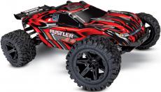 RC auto Traxxas Rustler 1:10 4WD RTR, červená