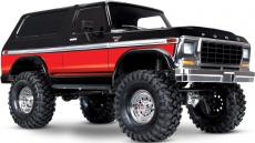 RC auto Traxxas TRX-4 Ford Bronco 1:10 TQi RTR, červená