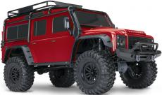 RC auto Traxxas TRX-4 Land Rover Defender 1:10 TQi RTR, červená