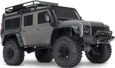 RC auto Traxxas TRX-4 Land Rover Defender 1:10 TQi RTR, šedá