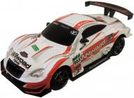 RC Car závodní model s kužely 1:43, bílý