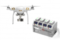Dron DJI Phantom 3 Professional, set 1