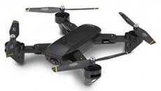 RC dron DM107s, černá