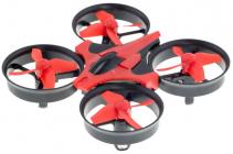 RC dron HI-TEC NANO, červenočerná