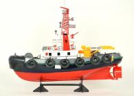 RC hasičská loď s vodním dělem