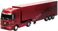 RC kamion Mercedes-Benz Actros, červená