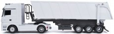 RC kamion sklápěč Mercedes-Benz Actros, bílá