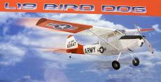 RC letadlo Cessna L-19 Bird Dog