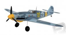 RC letadlo Messerschmitt BF-109 (Baby WB), modrá