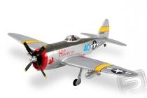 RC letadlo P-47 Thunderbolt V2 Hunter, mód 1