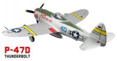 RC letadlo P-47D THUNDERBOLT s el. podvozkem