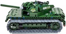 RC stavebnice Vojenský tank