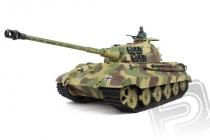 RC tank 1:16 German King Tiger (věž Henschel) kouř. a zvuk. efekty