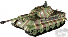 RC tank 1:16 German King Tiger (věž Porsche)