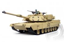RC tank 1:16 U.S.M1A2 Abrams kouř. a zvuk. efekty