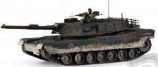 RC tank M1A1 Abrams 1:16, patinovaný