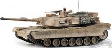 RC tank M1A2 Abrams 1:16, patinovaný