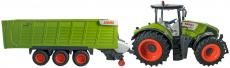 RC traktor Claas Axion 870 +  přívěs Cargos Trailer