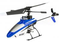 RC vrtulník Blade mSR RTF modrá, mód 1