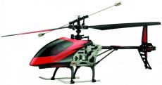 RC vrtulník Buzzard, červenočerná