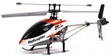 RC vrtulník Double Horse 9116, oranžová