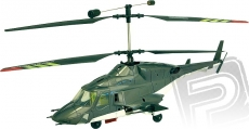 RC vrtulník Easycopter Airwolf, mód 1