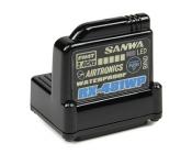 RX-481WP přijímač 2.4GHz FH3,FH4, 4-kanál, SSR (telemetrický/voduvzdorný)