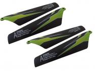 WL toys S929-02 hlavní listy rotoru zelené