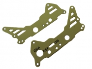 WL toys S929-11 rám kovový část A zelený