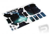 Samolepka na Phantom 3 - vzor 5 (vesmír)
