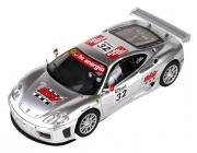 SCX Ferrari 360 GTC, stříbrná