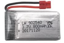 800mAh 3,7V - aku pro Syma X5HW a X5HC
