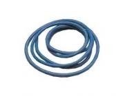 Silikonový kabel 4,1qmm, 11AWG, 1metr, modrý