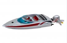 SILVER SPIRIT RC loď s závěsným motorem