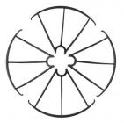 Syma X5C-03B kryty rotorových listů, černá