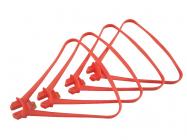 Syma X8SC, X8SW a X8 PRO kryty rotorových listů, červená