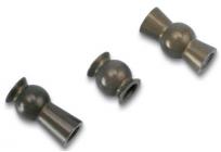 Traxxas - dutý kulový čep hliník (sada)