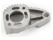 Traxxas - lože motoru leštěný hliník - 1