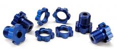 Traxxas - náboj kola 17mm hliník modrý (4)