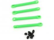 Traxxas - plastové táhlo stabilizátoru zelené (4)