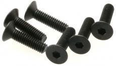 Traxxas šroub imbus M4x15mm zápustná hlava (6)