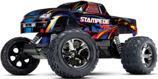 RC auto Traxxas Stampede 1:10 VXL TQi, Rock'n Roll