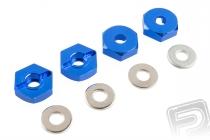 Unašeče kol – ALU, (modré), 4ks. 102042
