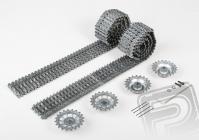 Upgrade kit tunning - kovové pásy + kola (pro 3818/19)