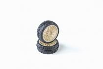 VTEC 1/10 nalepené gumy (2ks) - S10 TC